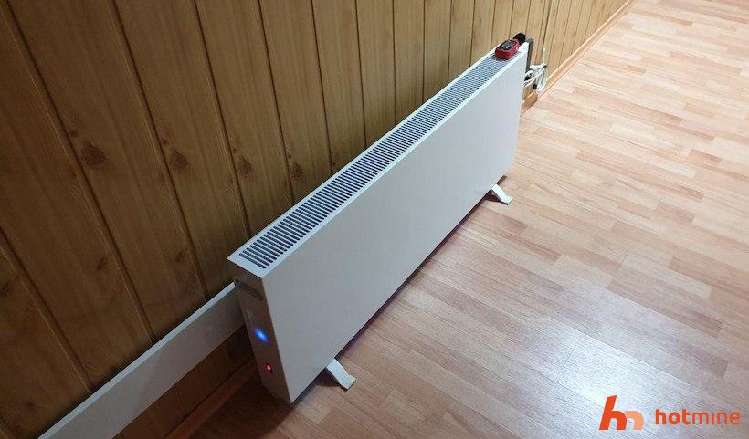 The first batch of Smart-heater